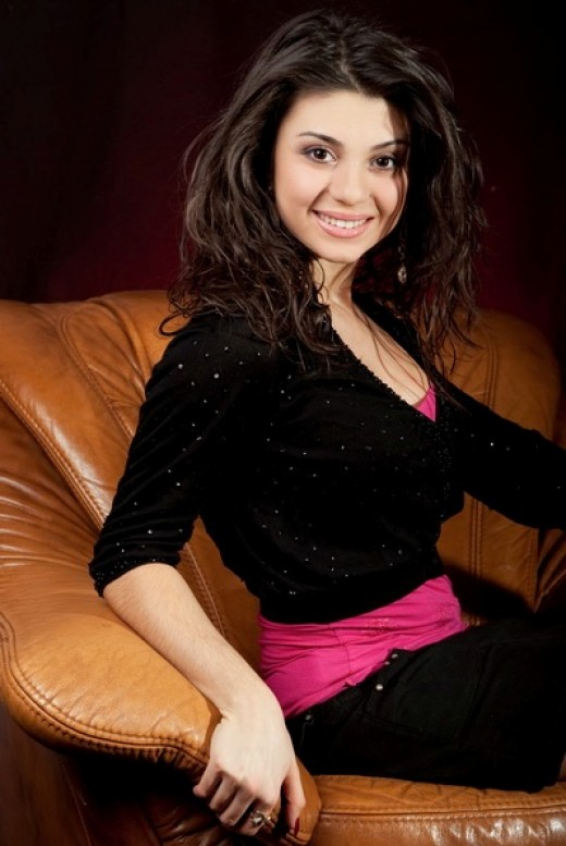 Кристина Джавадян. красивая армянка Кристина Джавадян, Крымская